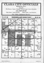 Rheiderland T117N-R37W, Chippewa County 1986 Published by Farm and Home Publishers, LTD